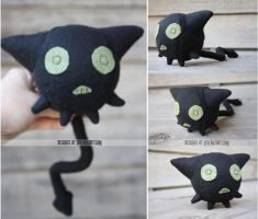 coal tar plush comission by resubee