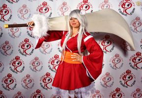 Female Inuyasha by DarrianAshoka