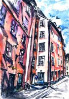 Streets of Stockholm by remarke2001