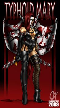 Typhoid Mary by Cahnartist