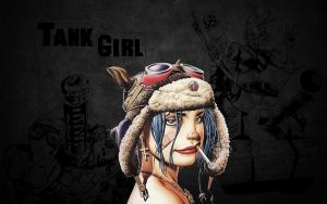 Tank Girl Wallpaper by Miggsy