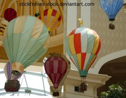 Bellagio Hot Air Balloons by Stickfishies-Stock