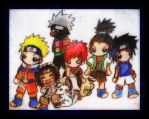 Naruto Chibi Group Picture XD by KawaiiDarkAngel