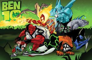 Ben 10 Minus 1 Color by BDStevens