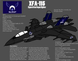 XFA-115 Equestrian Superfighter by PAK-FAace1234