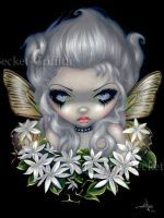 Starry Wild Jasmine Fairy by jasminetoad