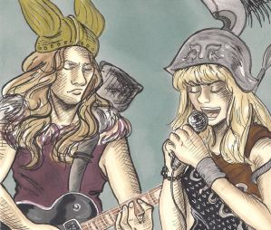 Thor and Athena