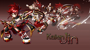 Jin Kaien (Grand Chase) by Kolvrak
