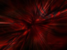 red abstract by Buchio