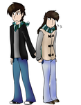|OC| Lawrence and Krissy by Smol-Maple-son