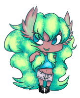 Chibi Monette :Commish: by ThatOnePers0n