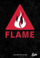 Teaser Poster Flame by Monkiej