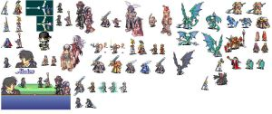 Fire Emblem Sprites by Shadow443