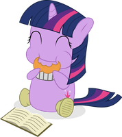 Chibi Twilight - Feasts a Muffin by guille-x3