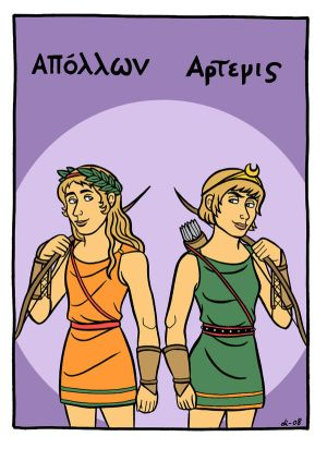 Apollon and Artemis
