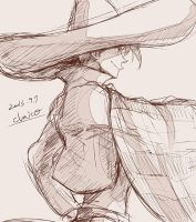 serape and sombrero by chacckco