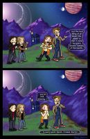 GiftArt: Birthday TARDIS Trip by blackbirdrose