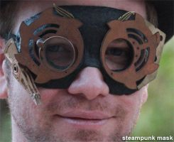 steampunk custom mask by milkool