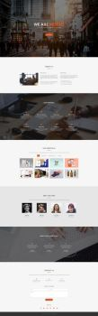 Modus - Free One Page Bootstrap Template by templatewire