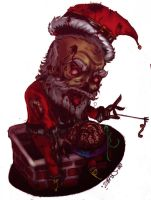 zombie_claus by seankobain
