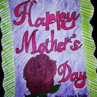 Happy Mother's Day Mom Card by partirockkergurl