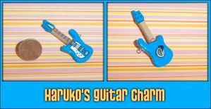 FLCL - Haruko's Guitar Charm by YellerCrakka