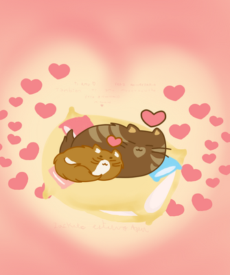 Tried to go all pusheen and this came out by Roxygonzalez