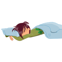 Thomas asleep by Ilovecupcakesomuch