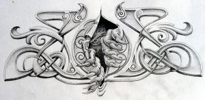 gww. tattoo design 3 by knotty-inks