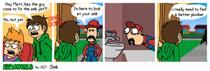 EWCOMIC No. 157 - Sink by eddsworld