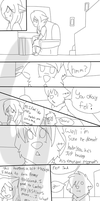 A lil scene from a long ago rp by Letipup