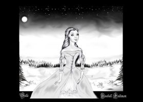 Belle the Beauty in the woods by Aqvila