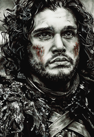 Jon Snow. by FreedomforGoku