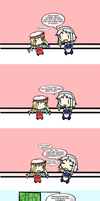 Flandre Goes to School by TouhouCommoner