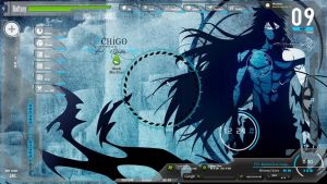 Bleach Blue Desktop by devconimo