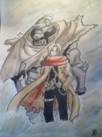 Elric Brothers by yellowforehead
