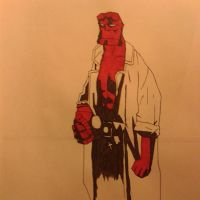 Hellboy WIP part 1 by gamespeaker13
