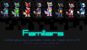 Starbound Species Mod - Familiars by Bitcoon