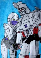 Megatron X Nightbird by PDJ004