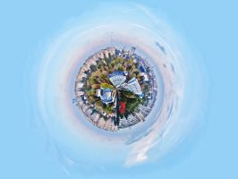 planet Bucharest by a-b-n
