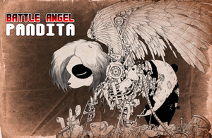 Battle Angel Pandita by Dave-Yerushalaim