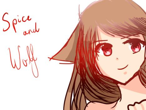 Spice And Wolf by Nanamiishere