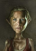 Carol, The Walking Dead by jonesmac2006