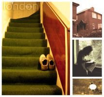 london trip: the house.. by neurotic-elf