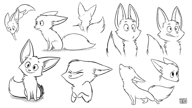 Expressions study by TheTuchi