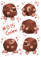 Golem by LexisSketches