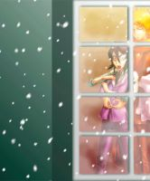 Winter window cuteness 02 by Shyndree