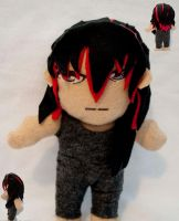 Dark Hunter Ash plushie by superjacqui