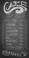 Scraps - Cafe Menu by Derkasnake
