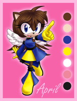 April the Hedgehog by AngieR3741